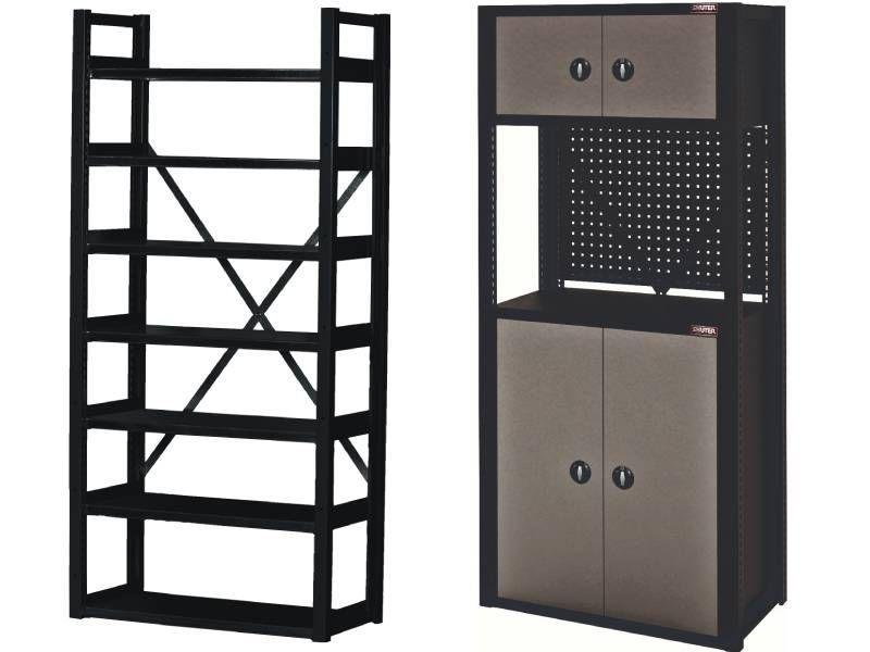 Safe Garage Rack, Tool Parts Storage, Garage Organization