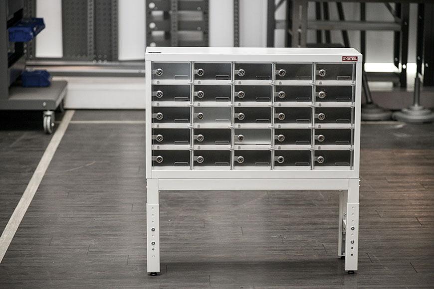 Secure locker, Locker storage for mobile phone, tablet and laptop