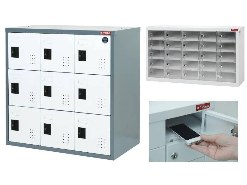 SHUTER steel locker for school, hallway, gym or office