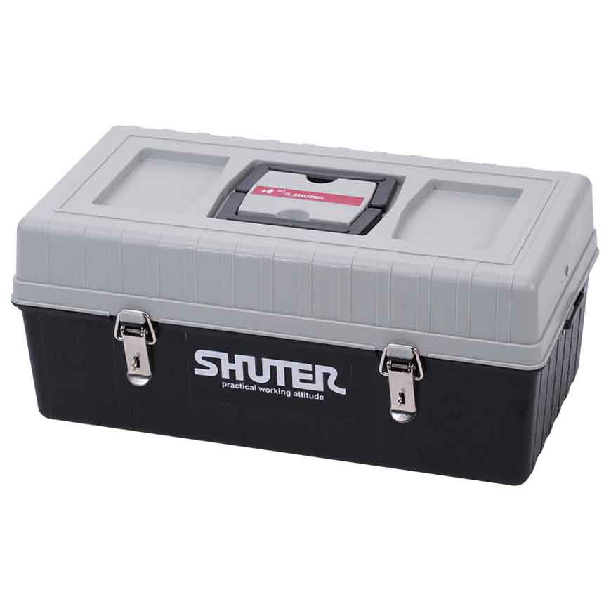 A professional tool box for heavy-duty use in or outside the workspace.