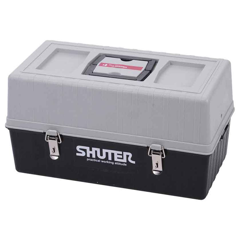 Take this tool box with you when you travel or use it to transport tools inside a factory or office.