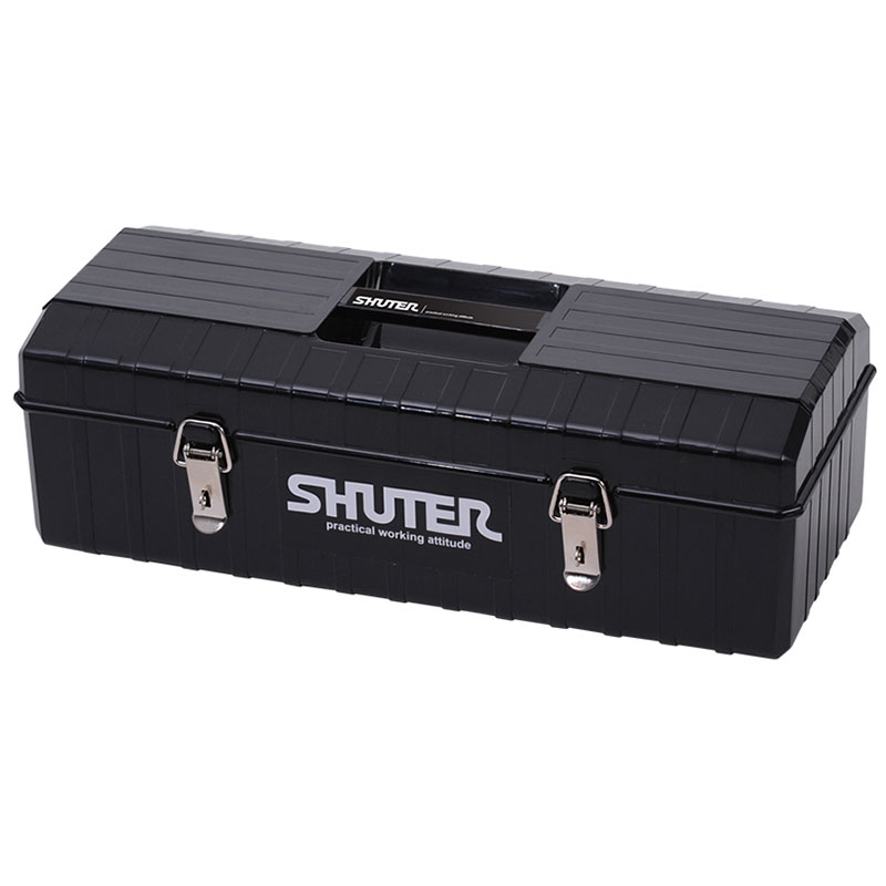 Great for on the road or use in the factory, take this heavy duty tool box anywhere and confidently pack it with tools.
