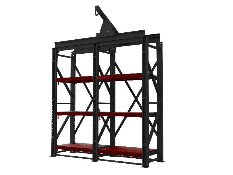 Mold storage rack, Mold storage shelf