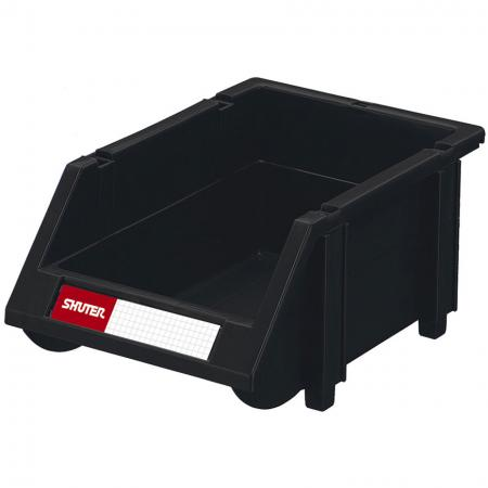 Industrial ESD Antistatic Hanging Bin for Electronic Devices and Components Storage - 1L - Modular bins for products and items requiring ESD protective storage.
