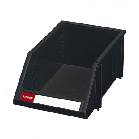 Classic Industrial ESD Antistatic Hanging Bin for Electronic Devices and Components Storage - 6L