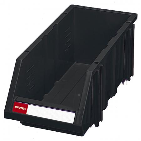 Classic Industrial ESD Antistatic Hanging Bin for Electronic Devices and Components Storage - 10L