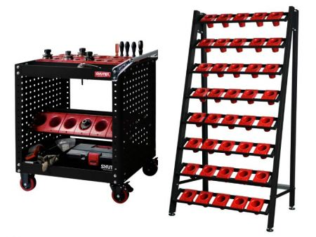 Almacenamiento de herramientas CNC
