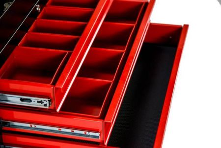 Tool Chest drawer with square boxes