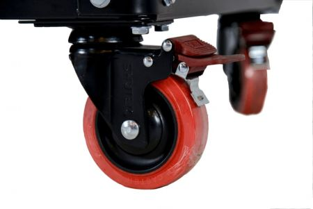 TPR rollers of tool chest