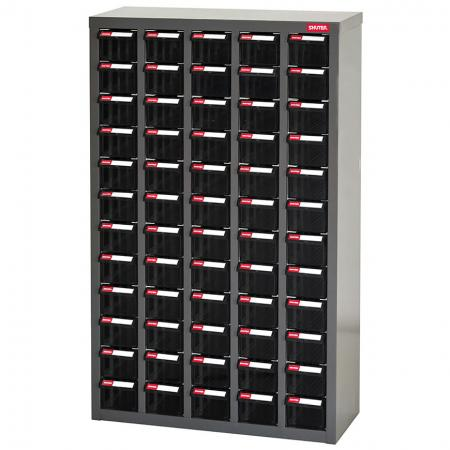 Antistatic ESD Metal Storage Tool Cabinet for Electronic Devices - 60 Drawers in 5 Columns - SHUTER offers you the perfect solution to your antistatic storage needs with its range of sturdy ESD drawer cabinets.
