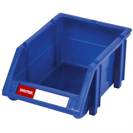 1L Classic Series Stacking, Nesting & Hanging Bin for Parts Storage - SHUTER classic hanging bins are suitable for small parts storage.