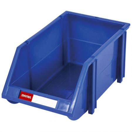2.5L Classic Series Stacking, Nesting & Hanging Bin for Parts Storage - These classic hanging bins are durable, grease-proof, and ideal for storing small parts.