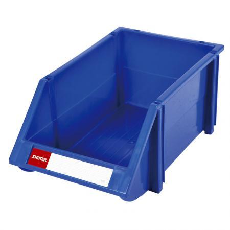 6L Classic Series Stacking, Nesting & Hanging Bin for Parts Storage - These hanging bins offer the ultimate solution for heavy-duty or office storage needs.