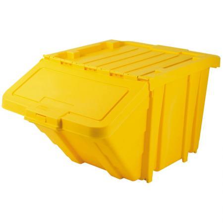 노란색 HB-4068 교수형 쓰레기통.