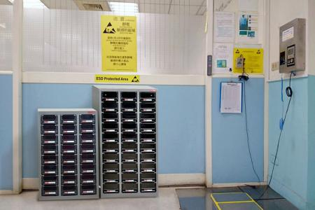 ESD Storage Cabinets - Perfect for creating highly organized and bespoke industrial ESD storage.