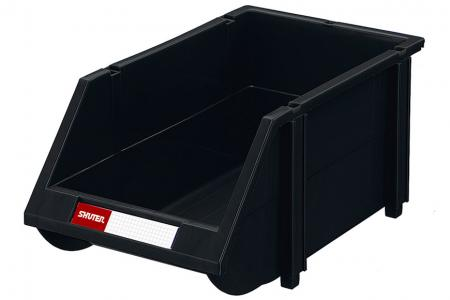 ESD Hanging Storage Bins - Industrial quality conductive ESD bins for secure small component storage.