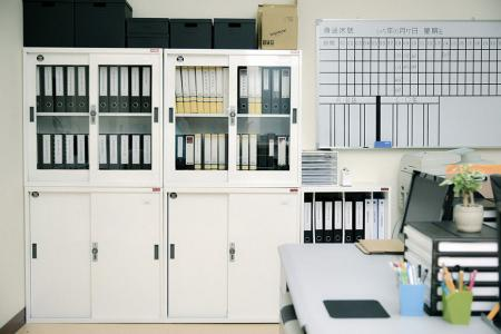 Lockable File Cabinet with steel door or glass door - Lockable Steel Office Storage, Steel File Cabinet, Steel Office File Cabinet