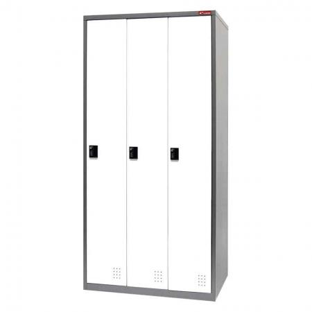 Digital Metal Locker for Secure Storage - 3 Doors in 3 Columns - Get these lockers within your grasp today and you're guaranteed to have an organized workspace within days.