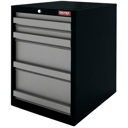 Heavy Duty Metal Tool Cabinet - 70cm Height with 4 Drawers for Industrial Environments