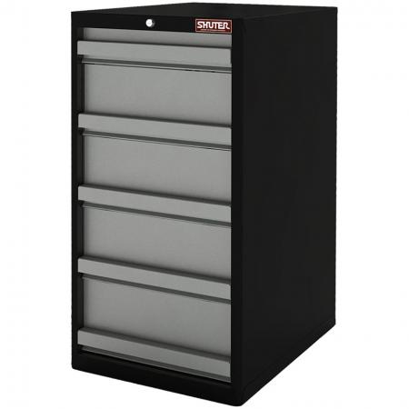 Heavy Duty Metal Tool Cabinet - 100cm Height with 5 Drawers for Industrial Environments