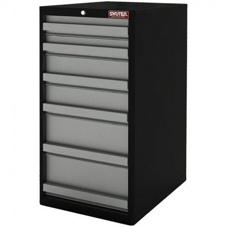 Heavy Duty Metal Tool Cabinet - 100cm Height with 6 Drawers for Industrial Environments