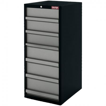 Heavy Duty Metal Tool Cabinet - 120cm Height with 6 Drawers Heavy for Industrial Environments