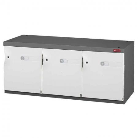 Office Storage Credenza for Shoes or Office Storage - 3 Medium Doors in 3 Columns