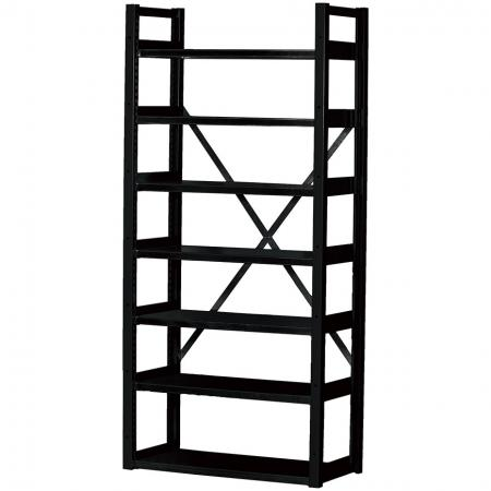 Industrial Organization Unit - 7 layer Shelf - SHUTER industrial shelving features a cross-back design for extra stability.