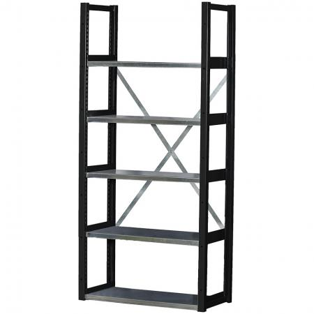 Shelf in black.