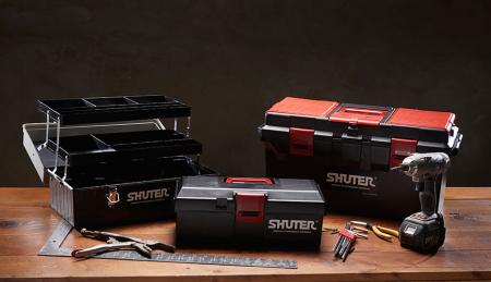 SHUTER professional tool boxes for industrial storage.