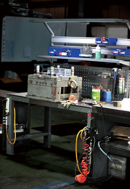 SHUTER workbenches provide the ulitmate solution for workspace storage.
