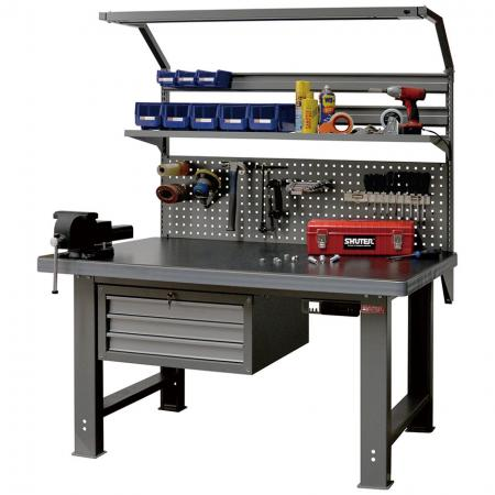 SHUTER workbenches provide the ultimate solution to all your workspace storage needs.