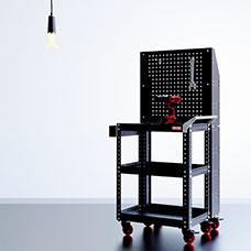 도구 상자 - HB 처리 상자가 있는 도구 카트 - CT-8821