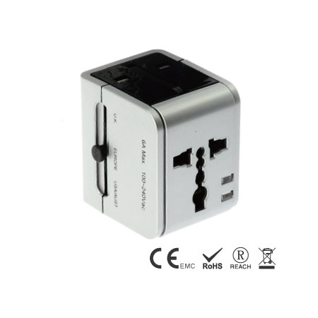 Perfect Travel Power with basic Surge Protection - Travel Adapter