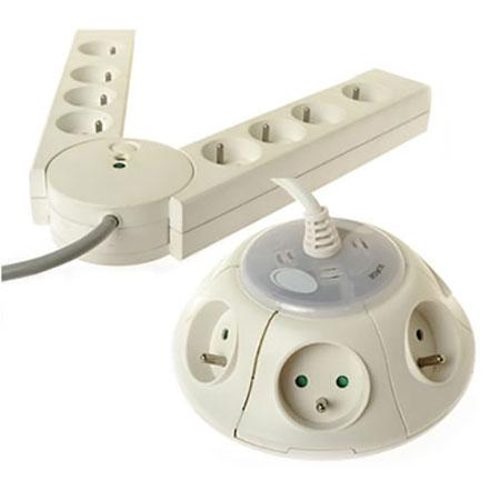 法式防雷突波保护电源插座