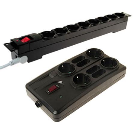 义式防雷突波保护电源插座