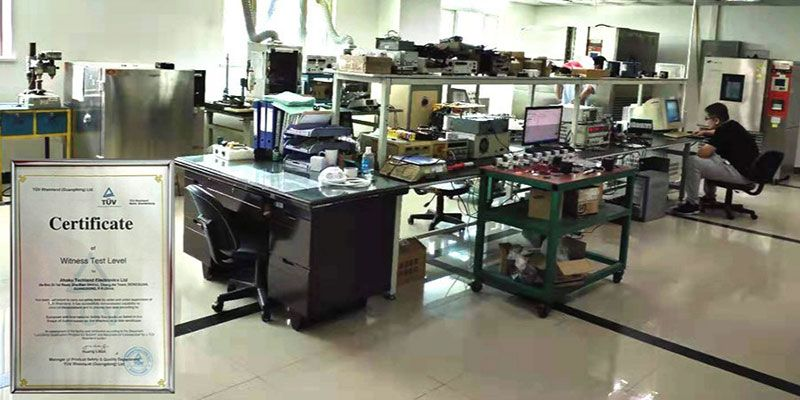 AHOKU 實驗室是萊茵TUV目擊測試水準實驗室