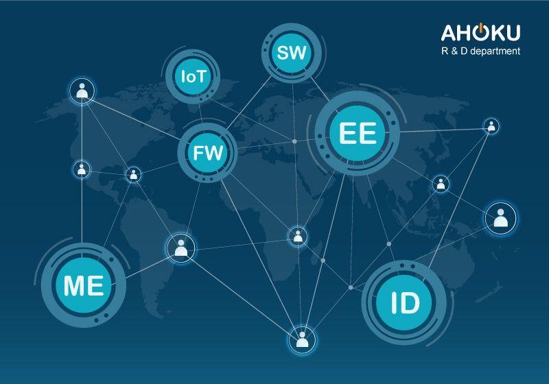 歐格擁有創新及開發新產品的研發人才與六大核心技術