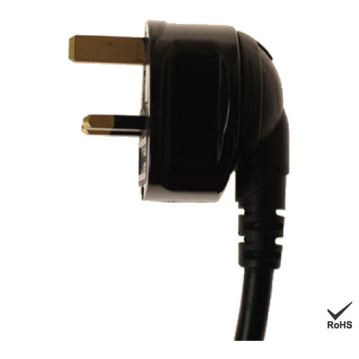 360 Rotatable of UK Plug AC Power Cord - Roto Plug Photo