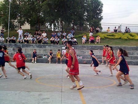 年度的籃球比賽花絮。