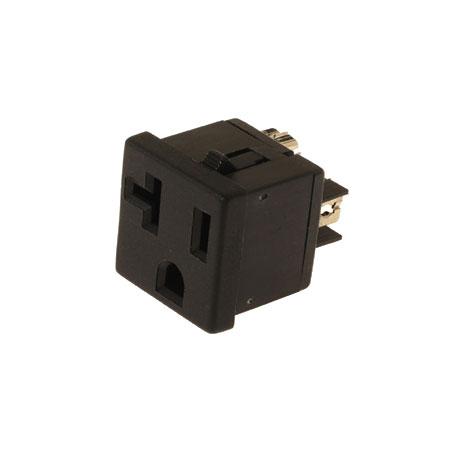 20A NEMA 5-20R Receptacle/socket accessories & snap in socket ac - NEMA 20A Single Receptacle