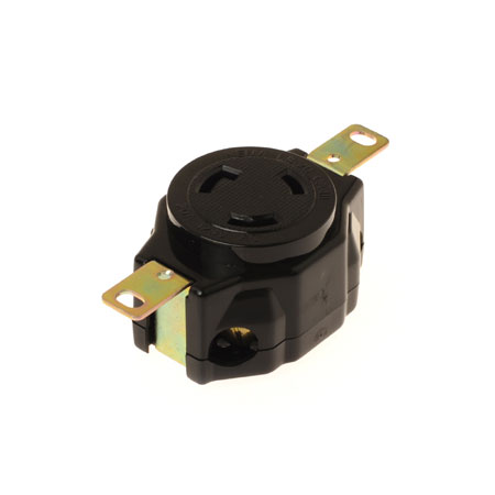20A NEMA L5-20R Industrial Locking Receptacle - NEMA 20A Industrial Locking Receptacle