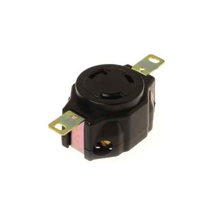 30A NEMA L5-30R Industrial Locking Receptacle - NEMA 30A Industrial Locking Receptacle