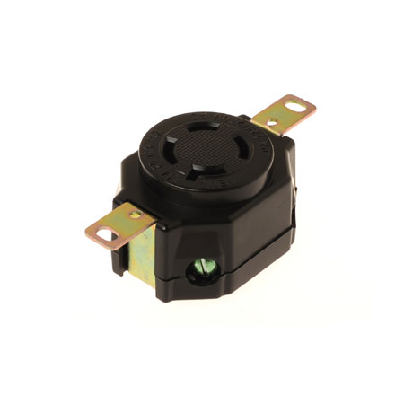 20A NEMA L14-20R Industrial Locking Receptacle - NEMA 20A Industrial Locking Receptacle