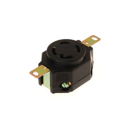 30A NEMA L14-30R Industrial Locking Receptacle - NEMA 30A Industrial Locking Receptacle