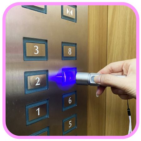 Elevator Button Disinfection