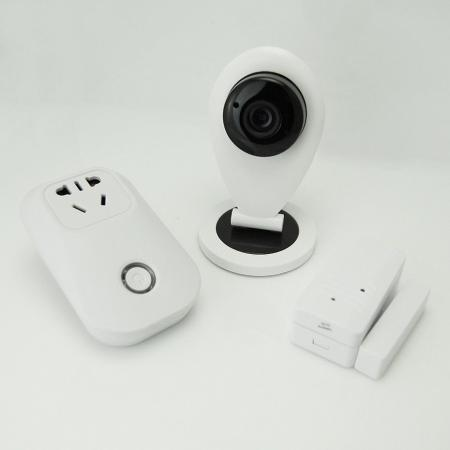 Easy sensor pairing to other smart home kit devices.