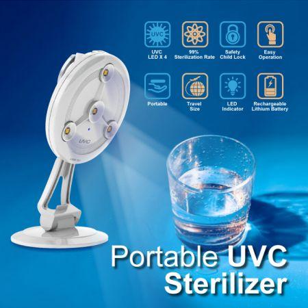 Tragbarer UVC-Sterilisator - Tragbarer UVC-Sterilisator