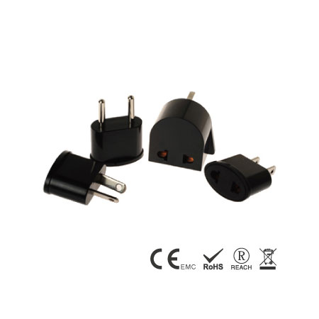 4-pack Travel Plugs with Plug A,C,G,I