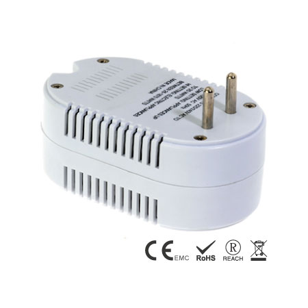 25/1875W High Low Dual Watt Travel Power Converter - Dual Wattage Travel Converter